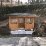 避雷小屋の新築施工をさせていただきました。